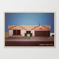 Breaking Bad - Caballo S… Canvas Print