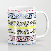 Folk Embroidery Mug