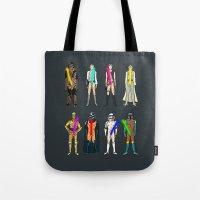 Glow in the Dark Naughty Starwars Lightsabers  Tote Bag