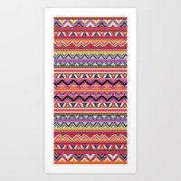Aztec #7 Art Print
