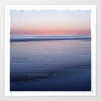 Sogno Rosa - Seascape No… Art Print