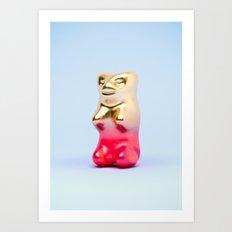 Haribo Goldbär Art Print