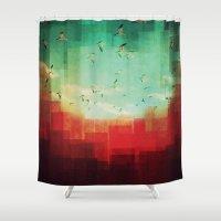 Summer City Shower Curtain