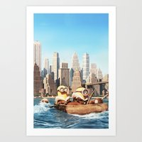 MINION LIFE: SEA Art Print