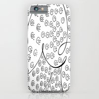iPhone Cases featuring Chanilla by Jennifer Broderick