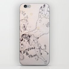 over around under and through iPhone & iPod Skin