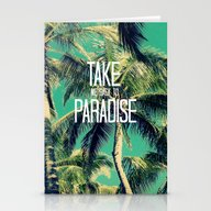 TAKE ME BACK TO PARADISE… Stationery Cards