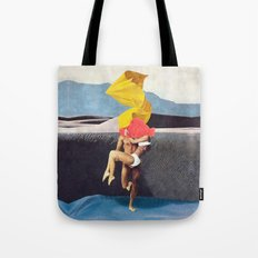 The Lovers vs the Elements - PAINTING Tote Bag