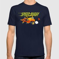 Speed Buggy Mens Fitted Tee Navy SMALL