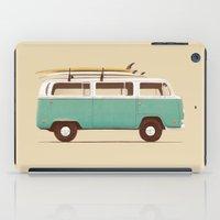 Blue Van iPad Case