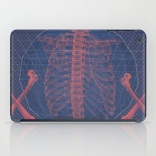 """The Bones of What You Believe"" by Matthew Vidalis iPad Case"