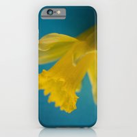 iPhone & iPod Case featuring Yellow and Blue by Rick Kirby