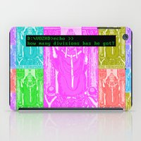Seven Papal Army iPad Case