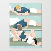 Bunk Buddies for Handsome Devil Press Canvas Print