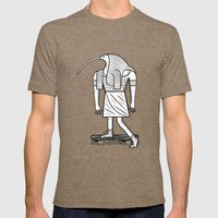 EGYPTiAN GODZ  ~ THOTH Mens Fitted Tee Tri-Coffee SMALL