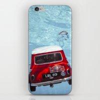 deep water swimming mini #1 iPhone & iPod Skin