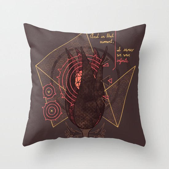 The Perks of Being a Wallflower Throw Pillow
