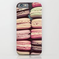 iPhone & iPod Case featuring Macarons by elle moss
