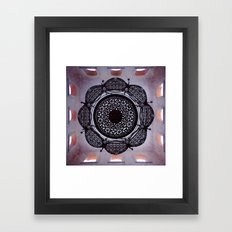 Lace magic Framed Art Print