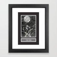 Shadow Season: The Web Framed Art Print