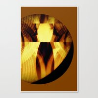 The moon is almost full tonight #II Canvas Print