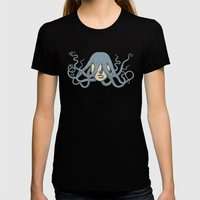 Bad hair day Womens Fitted Tee Black SMALL