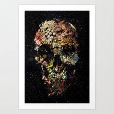 Smyrna Skull Art Print