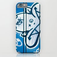 iPhone & iPod Case featuring Blue Devil by JReisPhotoDesign