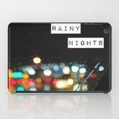 Rainy Nights iPad Case