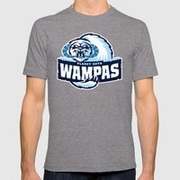 Planet Hoth Wampas - Blue Mens Fitted Tee Tri-Grey SMALL