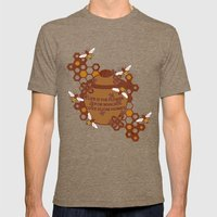 Life Is The Flower For W… Mens Fitted Tee Tri-Coffee SMALL