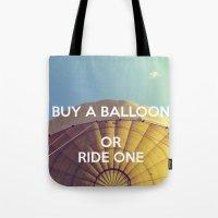 Buy A Balloon Tote Bag
