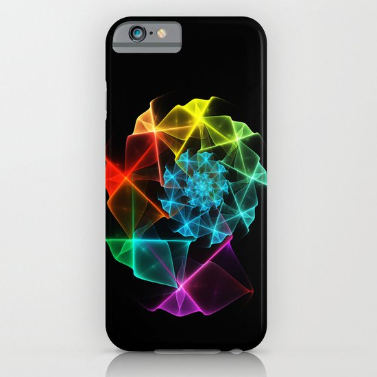 Classical Fractal Spiral 2 iPhone & iPod Case