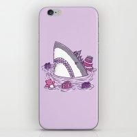 Birthday Princess Shark iPhone & iPod Skin