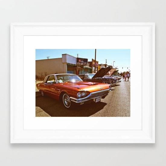 Tacoma Car Show Framed Art Print