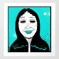 She's Got…Hungry Eyes… Art Print