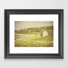 Cape Shack Framed Art Print