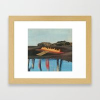 Set Yourself On Fire Framed Art Print