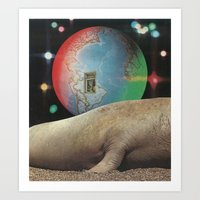Kaleidoscope World Art Print