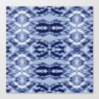 Laurel Canyon Tie-Dye Canvas Print