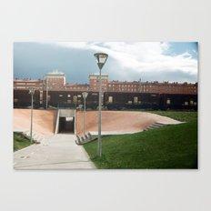 skate spot Canvas Print