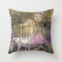 The Life Of A Girl In Th… Throw Pillow