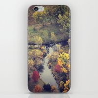Autumn From The Skies iPhone & iPod Skin