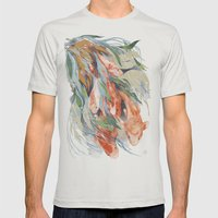 In The Waterweeds Mens Fitted Tee Silver SMALL