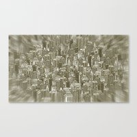 City Visions Canvas Print