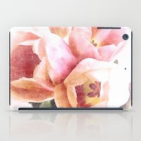 spring tulips iPad Case