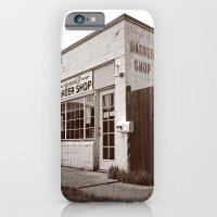 Neighborhood barber shop iPhone 6 Slim Case