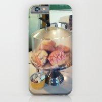 donut? ~ vintage cake plate iPhone 6 Slim Case