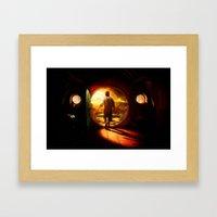 Bilbo's Journey - Painti… Framed Art Print