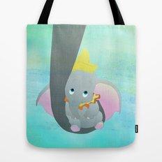 dumbo and his mom Tote Bag